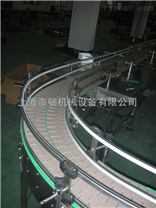 塑料轉彎鏈板輸送機