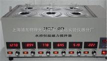 HCJ-6D 型水浴恒温磁力搅拌器