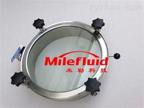YADDN500卫生级不锈钢大玻璃视镜快开人孔