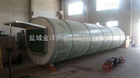 吉林龙井市智能型一体化预制泵站污水设备