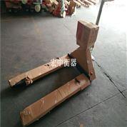 仓储搬运3吨电子磅 移动式带升降叉车秤