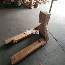 倉儲搬運3噸電子磅 移動式帶升降叉車秤