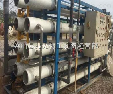 二手8吨单级反渗透纯化水处理全套供货