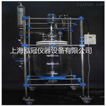 上海生產雙層玻璃反應釜