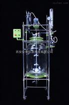 150L防爆雙層玻璃反應釜